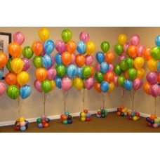 One Balloon Trees Assorted Colours